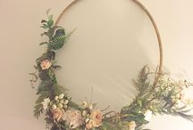 Hula hoop decorations
