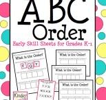 ABC Activities and Worksheets / by Lori Watkins