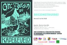 """""""RECONSTRUIRE!"""" / Exposition """"RECONSTRUIRE!"""" jusqu'au 12 juin à La Médiatine www.albertmarinus.org Cités jardins et architecture moderniste"""
