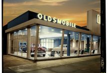 Architectural Photography / Visual style ideas for car dealership architectural imagery.