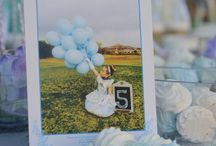 Cindarella Party for Sienna's 5th... / A stunning blue and lavendar party done the classy way