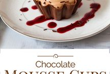 chocolate mouse cups