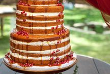 Naked wedding cakes??? / Cakes barely frosted / by Cynthia Puha-Nichols