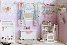 El cuarto de Sara / Habitación en miniatura a escala 1:12