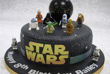 Bday cake & prop