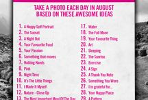 Photo challenges / photography challenges | fun | shared recources