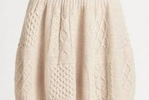 knitting skirt