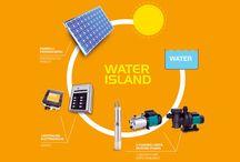 Sisteme Fotovoltaice / Sisteme de Pompare cu Panouri Fotovoltaice. Sistemul de pompare cu celule fotovoltaice este solutia ideala pentru acumularea de apa in rezevoare din puturi forate acolo unde nu este disponibila energia electrica.