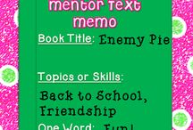 back to school mentor texts