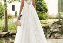 Hochzeitskleid/-frisur