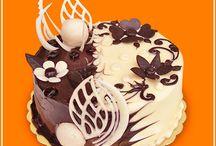 csokidíszes torták