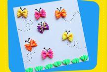 Çocuklara Özel / Çocukların ve ailelerinin birlikte yapabilecekleri eğlenceli faaliyetler ile ilgili pano