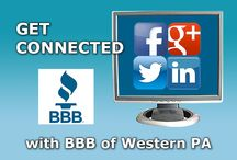 Social Media / Connect with BBB of Western PA on social media! / by BBB Western PA