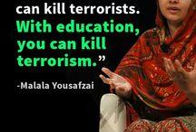 Trabalho de história-Malala / Fotos e informações sobre Malala