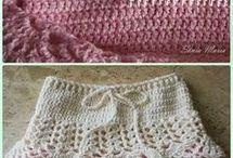 crochet girls stuff