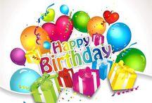 Birthdays / Cards, verses etc