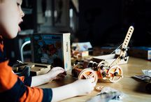 Maker Studio Enthusiasts! / Budding engineers and their creations with Maker Studio Sets! / by ThinkFun