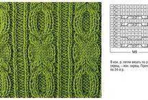 Tricô e Crochê / Pontos,  projetos,  e ideias  para tricô e croché.