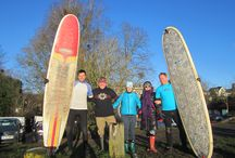 Severn Bore February 2015 / Meeting the Fans