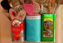 Kitchen Organization / by Sue Olson Elliott