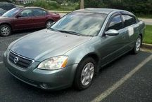 Used 2002 Nissan Altima for Sale ($5,000) at Hapeville, GA /  Make:  Nissan, Model:  Altima, Year:  2002, Exterior Color: Other, Interior Color: Tan, Doors: Four Door, Vehicle Condition: Good, Mileage:125,000 mi,  Engine: 6 Cylinder, Fuel: Gasoline, Transmission: Automatic, Drivetrain: 2 wheel drive.   Contact: 828-270-5070  Car ID (56736)