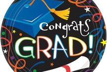 Graduation Party Decorations / We now carry everything you need to plan the perfect graduation party.  Check out our large selection and competitive prices here: https://www.tasseltoppers.com/#!/graduation-party-supplies