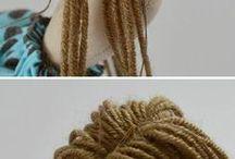 muñeca pelo