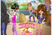 Horses 4 Ever / Horses 4 Ever theme on Moviestarplanet.com. Equestrian, fun and classy!