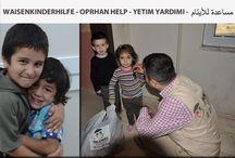 Waisenkinder Hilfsorganisationen / Waisenkinder Hilfe und Hilfsorganisation.