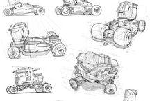 Futuristic Vehicle Design