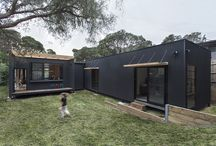 Charcoal + Timber Home