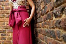 A Burst of Burgundy / This is fashion by Afreedom. #African #Fashion #Women #Grey #Hair #BlackGirl #Afro #Afreedom #Burgundy #Glam