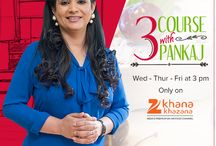 3 Course with Pankaj / Cookery Show