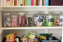 In my pantry / Some ideas to transform my larder shelves