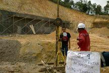 RUTAN BATAM 2014 - LAPAS,TEMBESI / Spectra Duta Karya telah menyelesaikan 4 titik sondir/DCPT