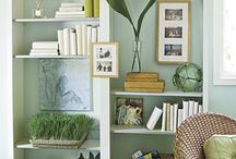 Bookcases with style / by Gwen Smith