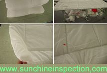 duvets quality inspection