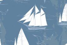 pokoik Stasia / pokój dziecięcy, styl marynarski
