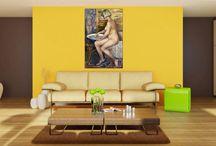 Надо купить / ☆Painter: Honored Artist of Russia - Inna Shirokova ☆Unique handmade oil painting on canvas☆☆