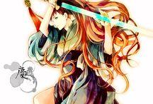 Manga's style - person