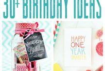 DIY: Birthday Ideas / by The Nest Effect