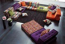 Floor Furniture Couches