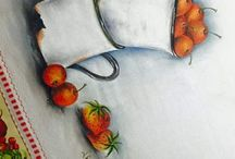 pinturas em tecido