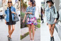 jaqueta jeans / Looks com jaqueta jeans