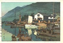 Yoshida Hiroshi - Woodblock prints / Incredible woodblock collection by Yoshida Jiroshi (Sinhanga)