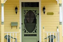 Old time screen door