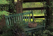 Park and garden bench