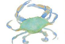crabs... / by {daphne} flip flops pearls & wine