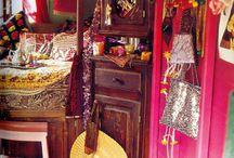 Barn House ~ art studio / colorful and practical ideas for my art studio / by Robin Tillman