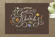 Thanksgiving / Celebrate Thanksgiving with these turkey-day inspired DIYs and ideas from Minted.